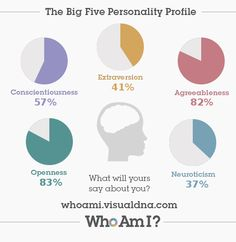 This was one of the most interesting personality tests I've taken. I like the style. Check it out https://whoami.visualdna.com/#feedback/616b75e0-0bc3-453f-8b35-857d0064e9c2 or create one for yourself https://whoami.visualdna.com/
