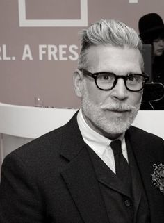 fdmlovesmens:  Nick Wooster Mar. 7 at Joe Fresh jcp launch in Beverly Hills ph Getty Images