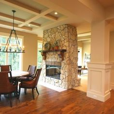 1000 images about fireplace on pinterest fireplaces 3 for Three way fireplace