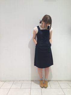 ⁂ポケットと後ろ姿がかわいいジャンスカ⁂ | 池袋P'パルコ店 | POU DOU DOU ショップブログ