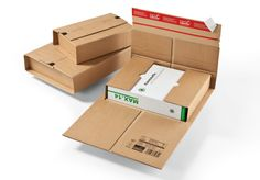 Wraparound Book Mailers – ColomPac USA Packaging Products from Pegasus Media Solutions Ecommerce, Cardboard Packaging, Recycling, Printed Matter, Wrap Around, Book Format, Flute, Biodegradable Products, Packaging Design