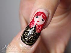 Matryoshka Dolls Nails - Russian dolls