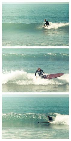 I miss surfing.