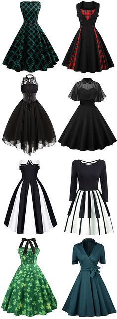 Vintage Dresses, Cheap Vintage Clothing and Retro Dresses for Women Casual Online Vintage Dresses Online, Vintage 1950s Dresses, Retro Dress, Vintage Clothing, 1950s Outfits, Vintage Outfits, Vintage Fashion, 1950s Fashion, Fashion 2018