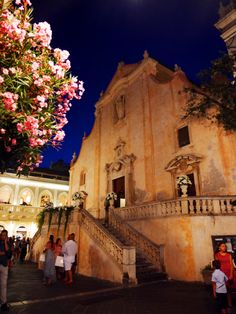 Chiesa di San Giuseppe, Taormina, Sicily, Italy. Laugh Travel Eat