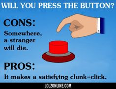 Will You Press The Button? #haha #funny