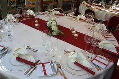 elegant und stylish in creme und dunkelrot - Pure style wedding - www.riessersee-hotel.de