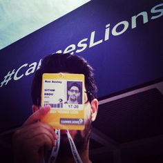 Pic via Instagram @ronni_azulike (Ronni Azulay) #CannesLions