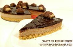 Una receta divertida y sin horno de: #Tarta de #Kinder #bueno #receta casera y vídeo paso a paso.#golosolandia http://www.golosolandia.com/2016/06/tarta-kinder-bueno.html