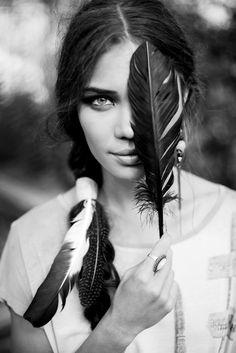 boho. feather.