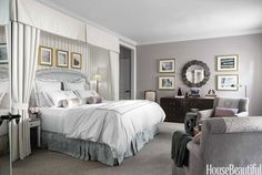 Pick Up Color From Your Biggest Pieces  - HouseBeautiful.com