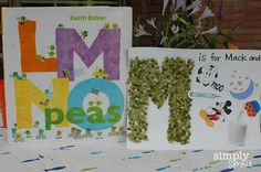 Simply Sprout-LMNO Peas activity