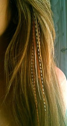 want feather extensions!!