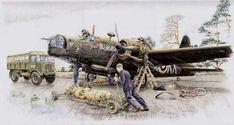 Wellington Bomber, Military Vehicles, Army Vehicles