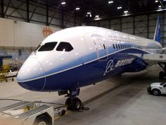 The Boeing 787.  Beautiful!