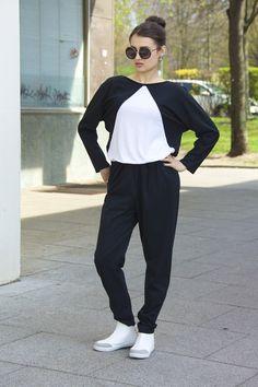 Overalls & Jumpsuits - NARA Jumpsuit Overall, Einteiler, Playsuit - ein Designerstück von Berlinerfashion bei DaWanda