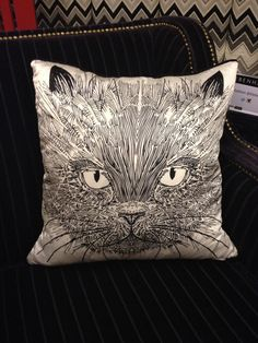 A cat cushion from Vicky Elizabeth/Edition