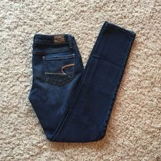 Selling this American Eagle Skinny Jeans in my Poshmark closet! My username is: jesseharbin. #shopmycloset #poshmark #fashion #shopping #style #forsale #American Eagle Outfitters #Denim