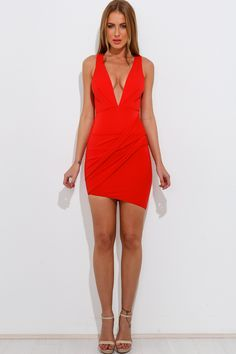Always For You Dress, Red, $59 + Free express shipping http://www.hellomollyfashion.com/always-for-you-dress-red.html