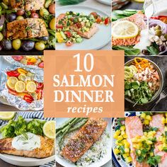 10 Salmon Dinner Recipes | The Cookie Rookie