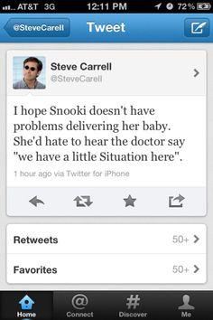 haha! yes steve carrell
