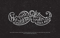 Typography inspiration | #890 typographi inspir, the cure