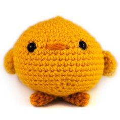 Amigurumi AmiBabies Baby Bird FREE Crochet Pattern