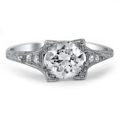 Platinum The Chatsworth Ring