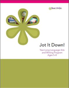 Jot It Down writing curriculum for ages 5-8