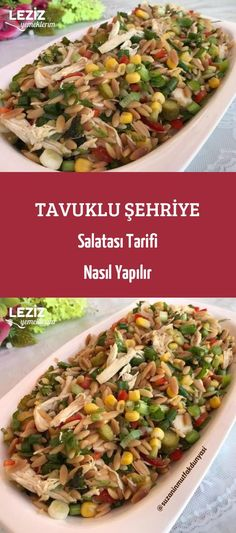 Tavuklu Şehriye Salatası Tarifi Nasıl Yapılır France is an independent nation in Western Europe and the biggest market of a large overseas administration. Chicken Noodle Salad Recipe, Chicken Recipes, Recipe Chicken, Perfect Salad Recipe, Salad Recipes Healthy Lunch, Pasta Salad Italian, Middle Eastern Recipes, Turkish Recipes, Butter Chicken
