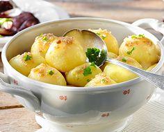 Rezept: Kartoffelklöße halb und halb