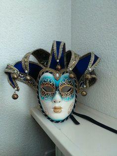 Online veilinghuis Catawiki: Zeer sierlijk afgewerkt venetiaans handgemaakt masker.