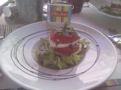 Tomate-mozzarella Burger