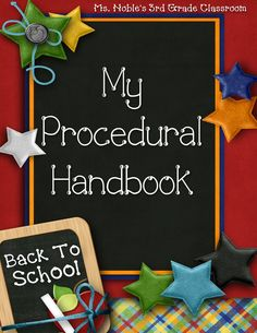 Procedural Notebook for students and other management information