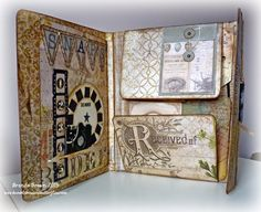 Bumblebees and Butterflies: Tim Holtz Folio
