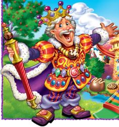 candyland character for decoration