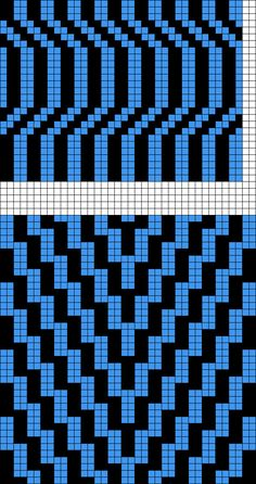 - Grid Paint These would make nice designs for a doubleknit scarf Cross Stitch Geometric, Cross Stitch Art, Cross Stitch Embroidery, Cross Stitch Patterns, Tapestry Crochet Patterns, Mosaic Patterns, Loom Patterns, Quilt Patterns, Crochet Blocks