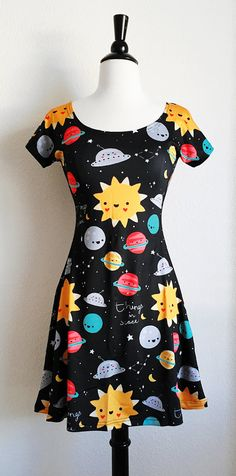 PLEASE READ: Im so excited to be offering skater dresses in my shop now! This design is my own and completely exclusive to my Etsy shop so you wont