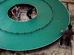 Tournante au ping-pong