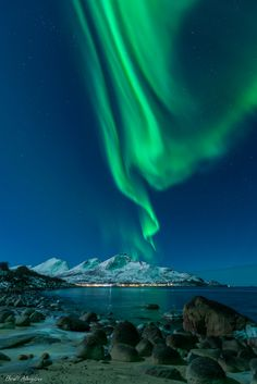 Auroras, Taken by Harald Albrigtsen on January 11, 2014 @ Kvaløya, Tromsø