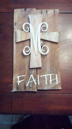 Reclaimed Pallet Sign by SimplySerendipity2 on Etsy Cute!!