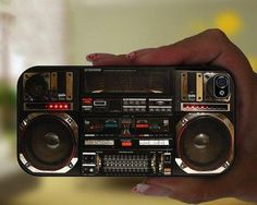 Coque de iphone Ghetto Blaster (ml)