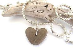 Beach Stone Jewelry Necklace