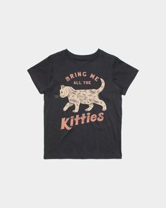 Bring Me Kitties Kids Tee