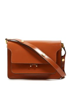 Click here to buy Marni Trunk medium leather shoulder bag at MATCHESFASHION.COM
