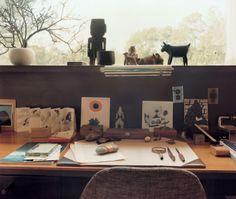 Design Faith: Handmade Portraits in the Modern Age. Walter Gropius desk