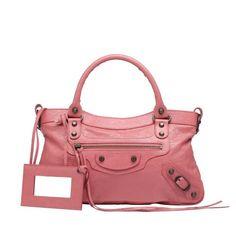 Balenciaga First City Bag Rose Bonbon.