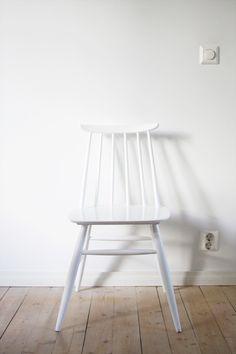 valkoinen pinnatuoli x 4