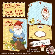 Gnome One Like You! :: Printable Cards :: Aimee Asher Boutique