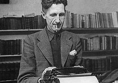 George Orwell You know you're a big deal when you have authoritarian or totalitarian practices named after you. In George Orwell's case, it's Orwellian. He penned famous – obviously an understatement – books like Animal Farm and Nineteen Eighty Four. George Orwell, Henry Miller, Writers And Poets, Writers Write, Book Writer, Book Authors, Book 1, Frank Kafka, Public Relations